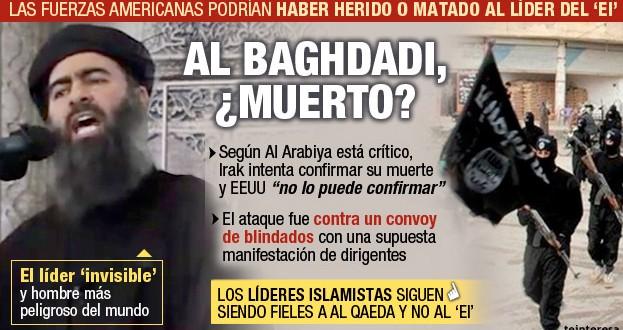 Irán dice que el jefe de ISIS, Abu Bakr al Baghdadi ha muerto
