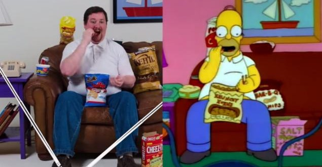 Video: El clon de Homero Simpson en la vida real