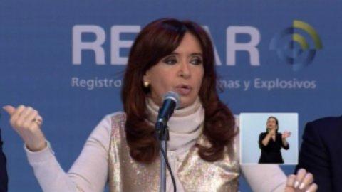"Cristina Kirchner: ""No tengo ninguna cuenta para que me descubran"""
