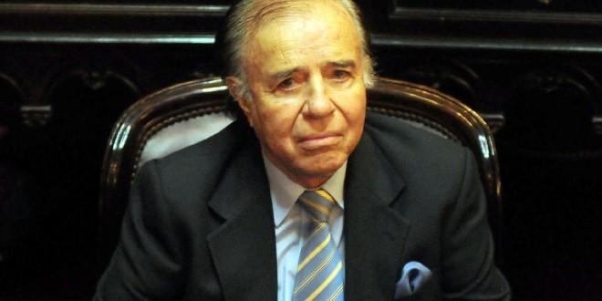 """Carlos Menem: """"Scioli es quien mejor interpreta mis ideas"""""""