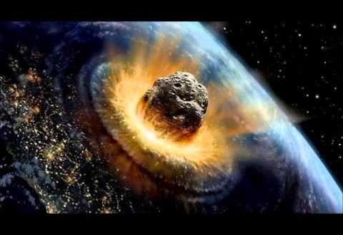 Posible impacto de un meteorito en 2017