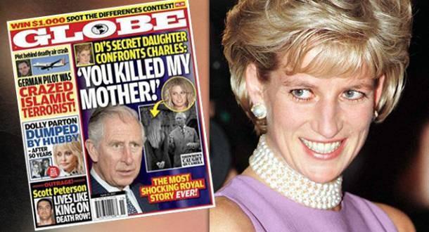 la hija secreta de Lady Di y el príncipe Carlos