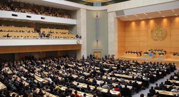 Asamblea de la OMS en Ginebra