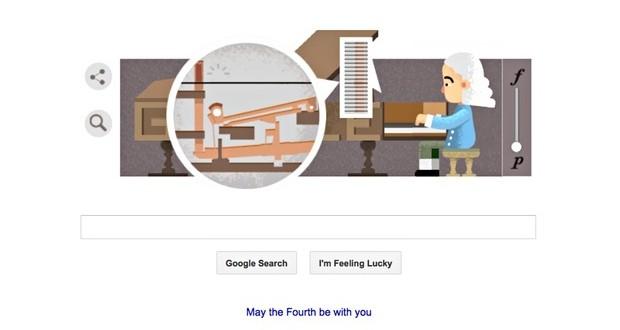 Google homenajea a Bartolomeo Cristofori, el inventor del piano