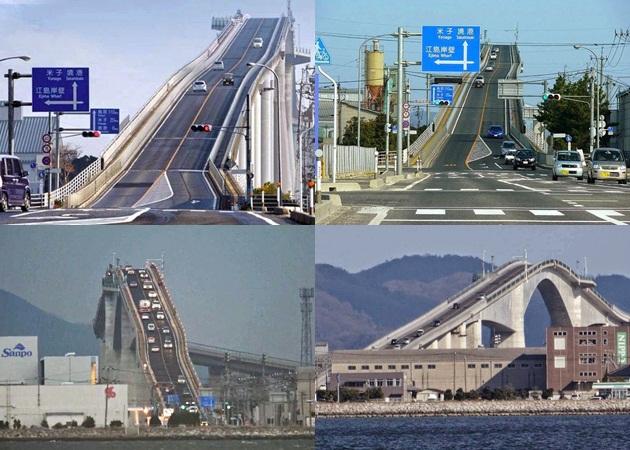 El puente con la pendiente mas pronunciada del mundo