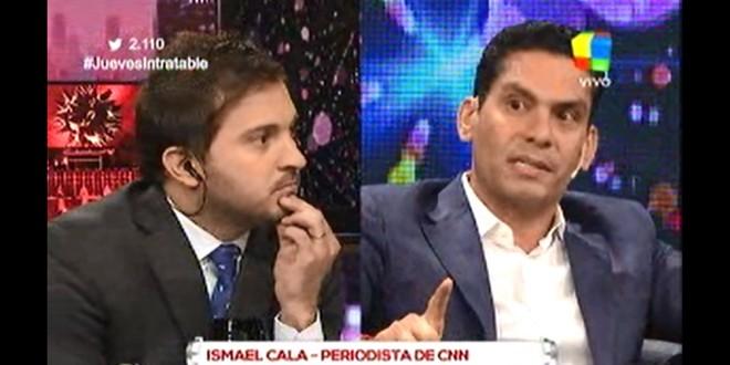 El fuerte cruce de un periodista de la CNN Ismael Cala y Brancatelli