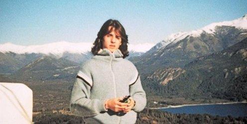"""Foto : El """"Pelado López"""" cuando tenía pelo"""