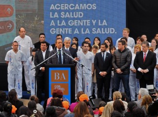 """Scioli : """"Llevaremos las Unidades de Pronta Atención a las grandes ciudades"""""""