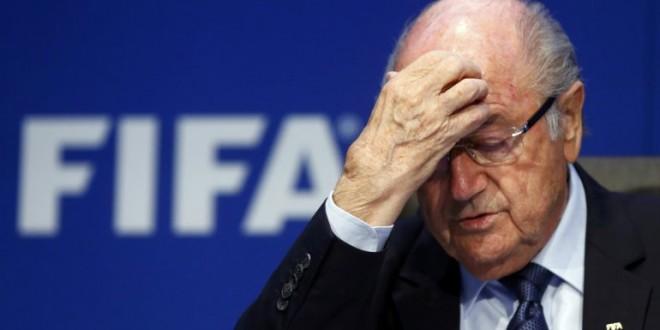 Blatter se va de la FIFA