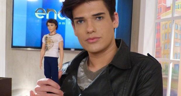 """Con solo 20 años murió Celso Santebañes , el modelo conocido como el """"Ken humano"""""""