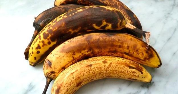 Como hacer para que una banana negra vuelva a ser amarilla