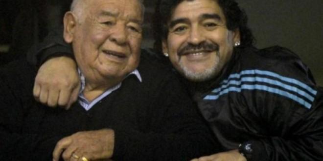 El papa de Diego Maradona en coma inducido. La situacion es irreversible