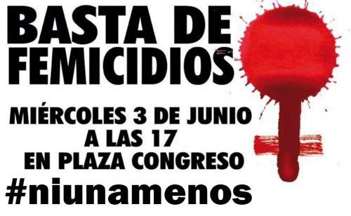 #Niunamenos: Puntos de encuentro para la manifestación en todo el país contra los femicidios