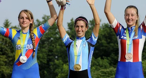 Maira Arias ganó medalla dorada en patín