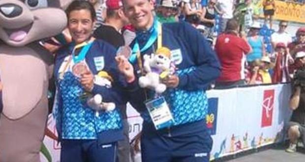Canotaje y remo suman medalles para Argentina en los juegos continentales