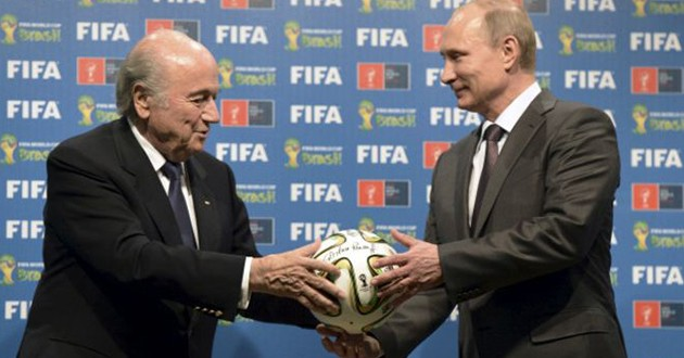 Putin se reunirá con Blatter durante el sorteo de las eliminatorias para Mundial 2018
