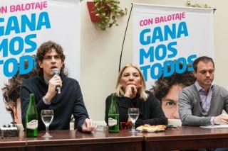 """Elisa Carrió contra Lousteau: """"No es mi candidato; yo lo voy a votar, algo que él no dice de mí"""""""