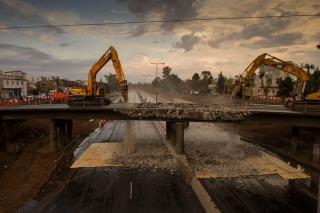 Desvían el tránsito sobre la avenida General Paz el fin de semana por la demolición de un puente
