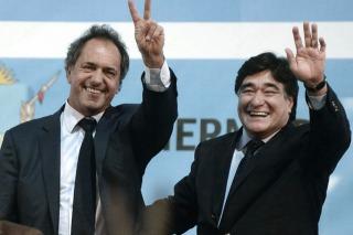 """Scioli: """"Si soy presidente, la economía va a estar muy bien y mejorará la calidad de empleo"""""""
