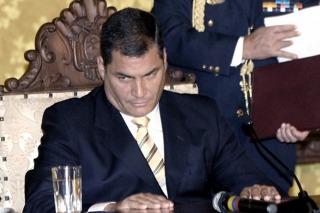 """El gobierno de Ecuador denunció """"conspiración"""" opositora"""
