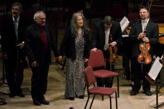 Concierto de Martha Argerich en el CCK