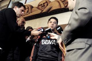 """Gallardo : """"Queremos poner a River de vuelta en primeros planos internacionales"""""""