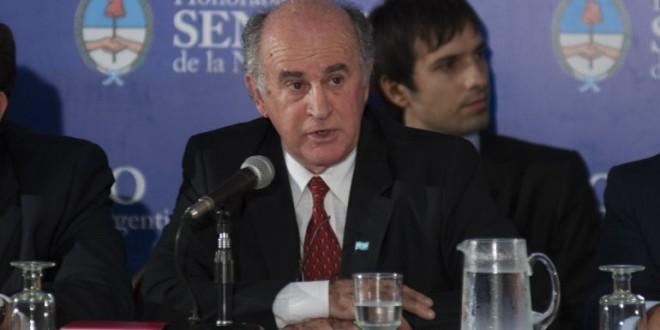 "Parrilli: La Agencia Federal de Inteligencia (AFI) ""va a cuidar, no espiar, a los argentinos"""