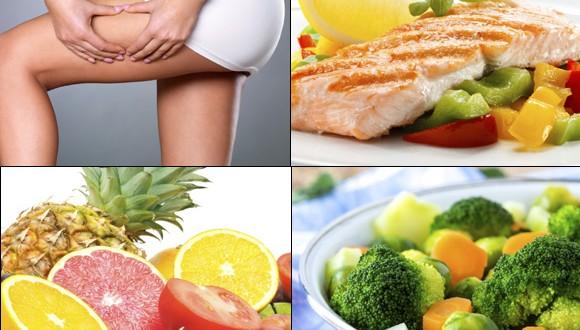 Alimentos que evitan la celulitis