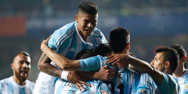 Argentina goleó a Paraguay y se metió en la final de la Copa América