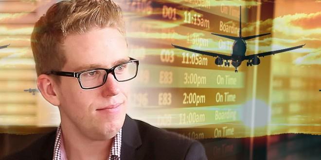 El hombre que estafa a las aerolíneas y viaja gratis por el mundo