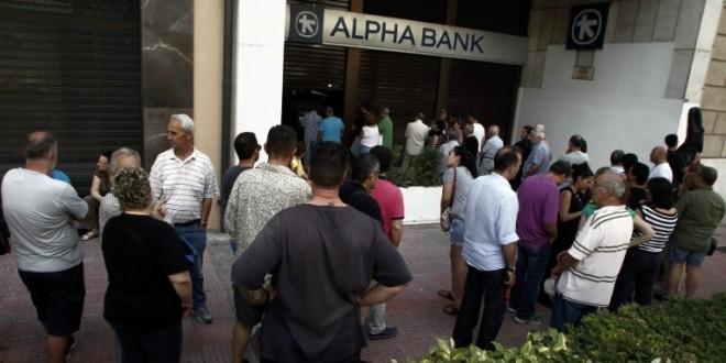Grecia extiende el feriado bancario