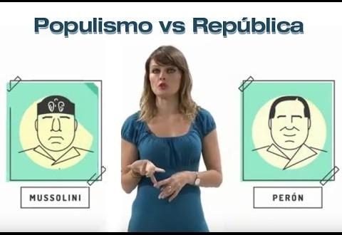 Video: Una explicación del populismo se viraliza en las redes sociales