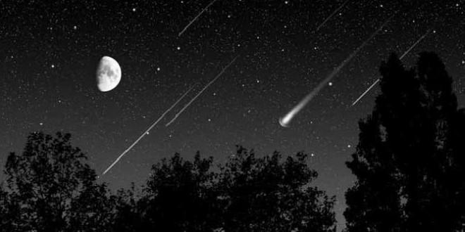 Esta noche habrá lluvia de estrellas