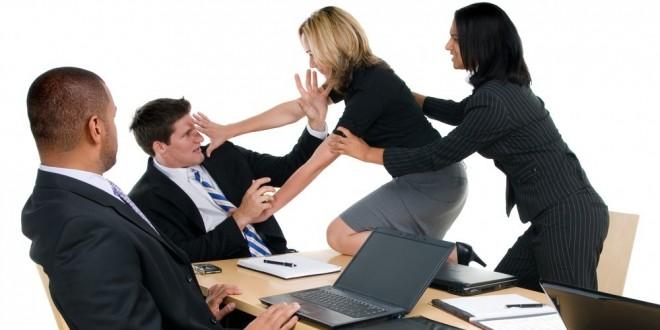 Las 6 personas más conflictivas en el trabajo