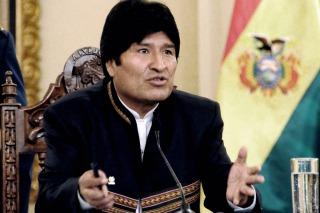 """Evo Morales :""""hay una ofensiva contra países antiimperialistas"""""""