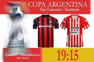 San Lorenzo busca llevar su gran momento a la Copa Argentina