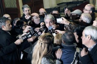 """Aníbal Fernández se refirió a las inundaciones: """"La presencia del Gobierno está desde el primer momento"""""""