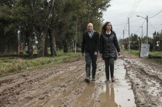 El massismo critica a Vidal por buscar rédito político con las inundaciones en Pilar
