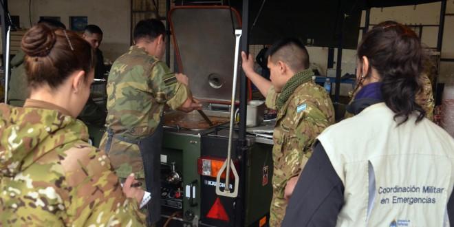 Continúa la asistencia del las Fuerzas Armadas a los afectados por las inundaciones