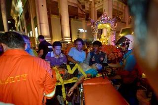 Explosión en un shopping de Bangkok