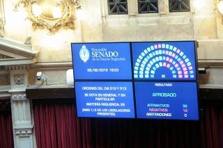 El Senado dio su acuerdo para que Parrilli sea director de la AFI