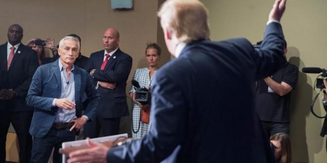 Video: Donald Trump echó a un periodista latino