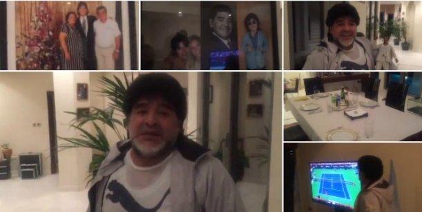 El video de Maradona en Dubai