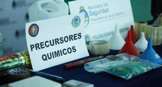 """ARGENTINA ES """"EL MAYOR PRODUCTOR DE PRECURSORES QUÍMICOS"""""""