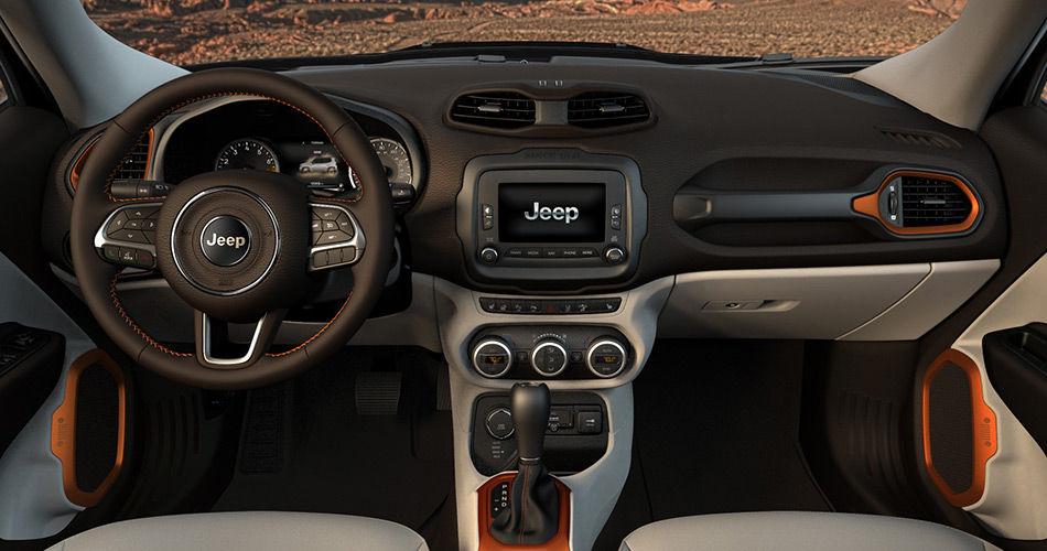 jeep renegade tablero