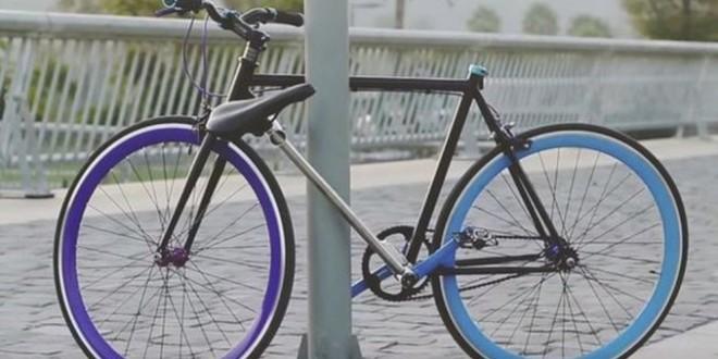 Inventan una bicicleta que no puede ser robada