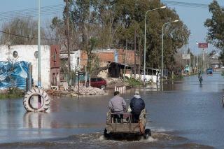 La sudestada produjo anegamientos en las zonas ribereñas de la Ciudad y el Gran Buenos Aires