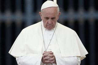 """Papa Francisco: """"Los muros no son una solución contra la ola de refugiados"""""""