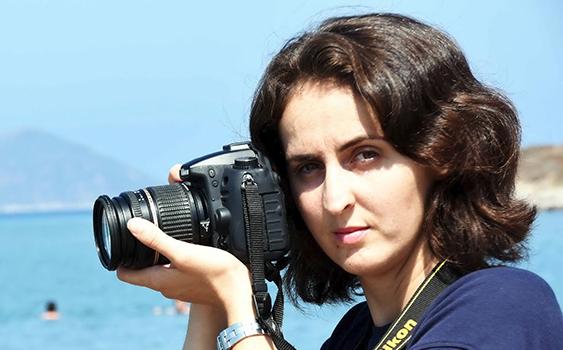 La mujer que retrató la muerte del nene sirio