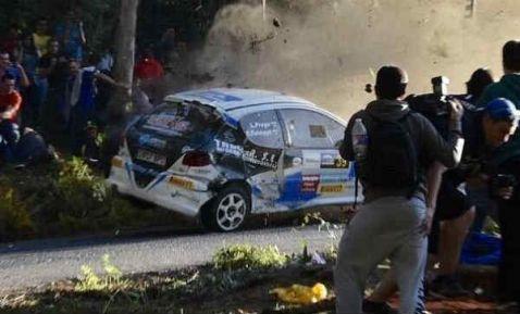 Video: Terrible accidente en Rally de La Coruña 6 muertos